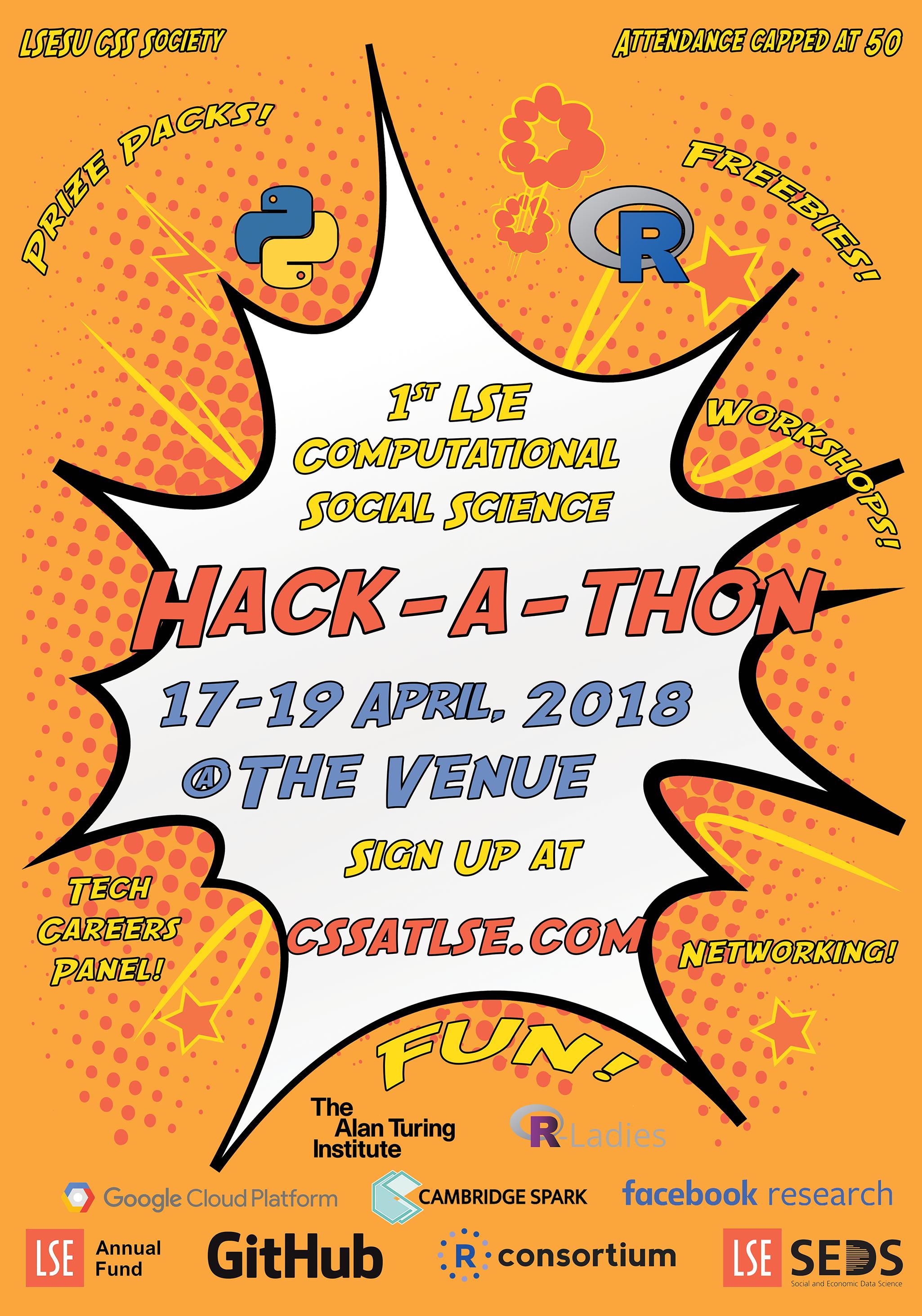 1st LSE CSS Hackathon! London 17-19 April